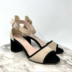 Ferca 81 Made in Italy blush suede pump 7 designer